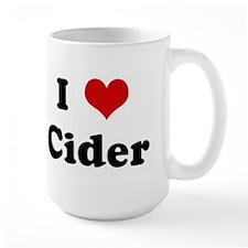 I Love Cider Mug
