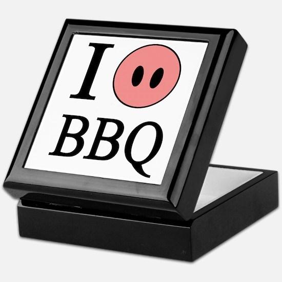 I Love BBQ Keepsake Box
