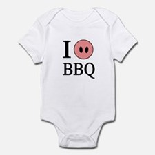 I Love BBQ Infant Bodysuit