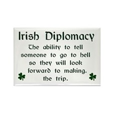Irish Diplomacy Magnet (3x2)