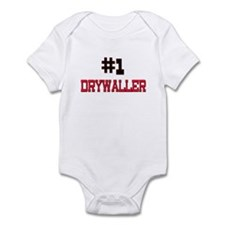 Number 1 DRYWALLER Infant Bodysuit