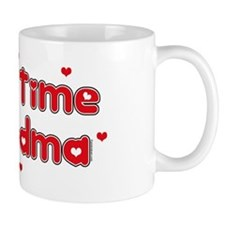 Heart 1st Time Grandma Small Mug