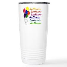 Balloons Balloons Travel Coffee Mug