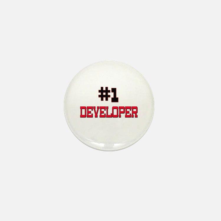 Number 1 DEVELOPER Mini Button