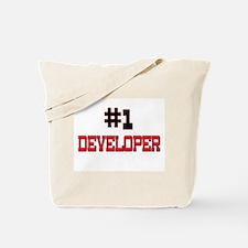 Number 1 DEVELOPER Tote Bag