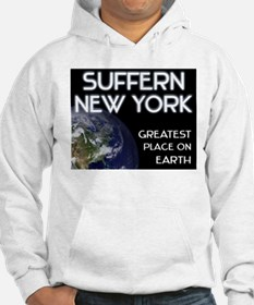 suffern new york - greatest place on earth Hoodie