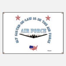 Air Force Sister-in-Law Banner