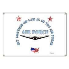 Air Force Brother-in-Law Banner