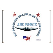 Air Force Daughter-in-Law Banner