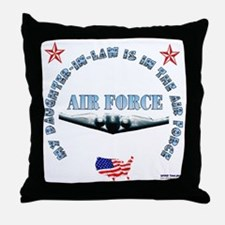 Air Force Daughter-in-Law Throw Pillow