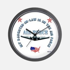 Air Force Daughter-in-Law Wall Clock