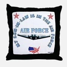 Air Force Son-in-Law Throw Pillow