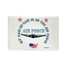 Air Force Son-in-Law Rectangle Magnet