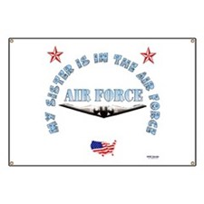 Air Force Sister Banner