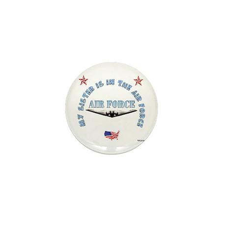 Air Force Sister Mini Button