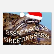Santa Snake Postcards (Package of 8)