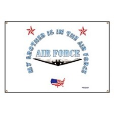 Air Force Brother Banner