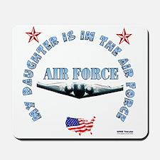 Air Force Daughter Mousepad