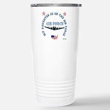 Air Force Daughter Travel Mug