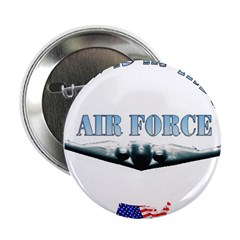 Air Force Daughter Button
