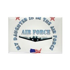 Air Force Daughter Rectangle Magnet (100 pack)