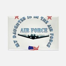 Air Force Daughter Rectangle Magnet (10 pack)