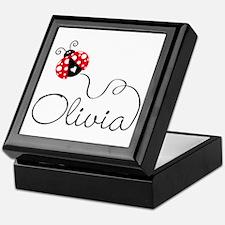 Ladybug Olivia Keepsake Box