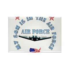Air Force Son Rectangle Magnet