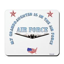 Air Force Granddaughter Mousepad