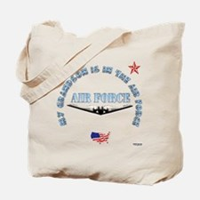 Air Force Grandson Tote Bag
