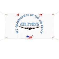 Air Force Grandson Banner
