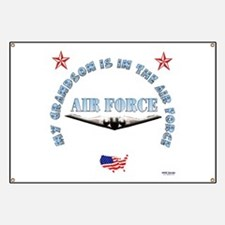 Air Force Grandson Banner