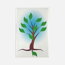 The Living Tree Rectangle Magnet