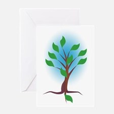 The Living Tree Greeting Card
