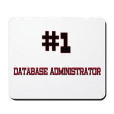 Number 1 DATABASE ADMINISTRATOR Mousepad