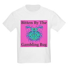 Gambling Bug Kids T-Shirt