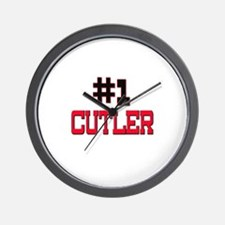 Number 1 CUTLER Wall Clock