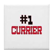 Number 1 CURRIER Tile Coaster