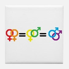 Gay Rights Tile Coaster