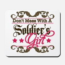 Don't Mess with a Soldier's G Mousepad