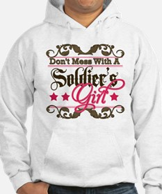 Don't Mess with a Soldier's G Hoodie