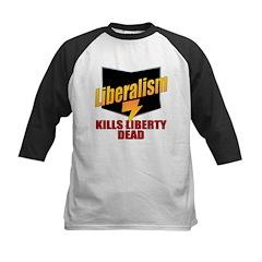 Liberals Kill Liberty DEAD Kids Baseball Jersey