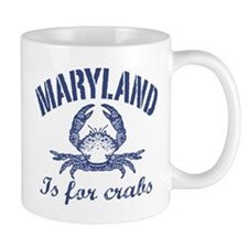 Maryland Is for Crabs Mug