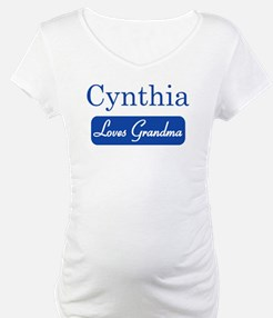 Cynthia loves grandma Shirt