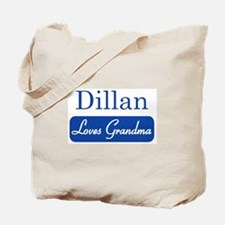 Dillan loves grandma Tote Bag
