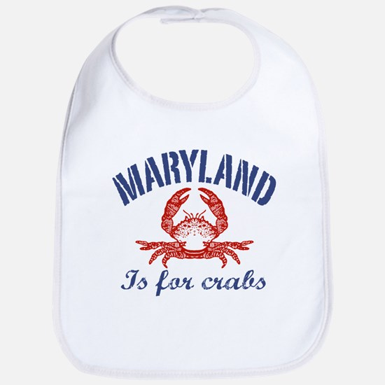 Maryland Is for Crabs Bib
