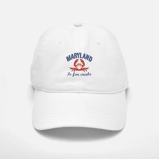 Maryland Is for Crabs Baseball Baseball Cap