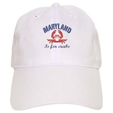 Maryland Is for Crabs Baseball Cap