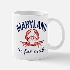 Maryland Is for Crabs Mug