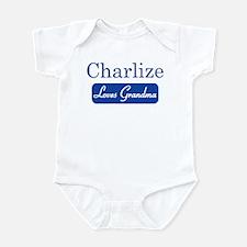 Charlize loves grandma Onesie